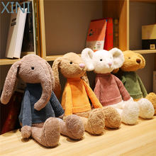 Милая кукла xini для домашних животных 55 см кролик слон мышь