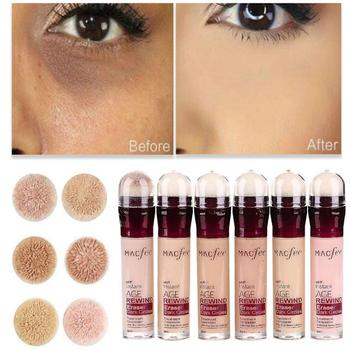 High Covering Skin-friendly Concealer Lasting Brighten Invisible Pores Dark Circles Waterproof Face Eye Makeup Foundation TSLM2