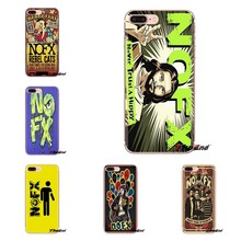 Silicone Phone Skin Case NOFX Great album Punk Rock Poster For iPod Touch Apple iPhone 4 4S 5 5S SE 5C 6 6S 7 8 X XR XS Plus MAX(China)