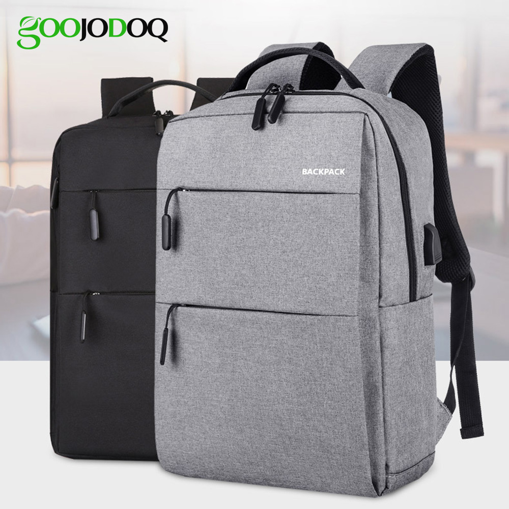 15 Inch Laptop Backpack Anti-theft Waterproof Laptop Backpack For Macbook Air Pro 15 Backpack With USB Charging Student Bag