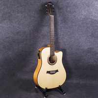41 inch Guitar 6 String Folk Pop Guitar Pickup Electric Acoustic Guitar Solid Wood Guitarra Professional Guitar AGT124