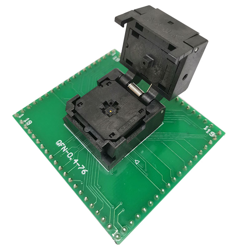 ANDK QFN20 MLF20 WLCSP20 To DIP20 Programming Socket Adapter Pin Pitch 0.4mm IC Body Size 3*3  Test Socket ZIF Adapter
