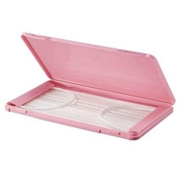1Pcs Maske Fall Tragbare Einweg Gesicht Masken Container Sicher Gesundheit Einweg Maske Lagerung Box Staubdicht Lagerung Veranstalter
