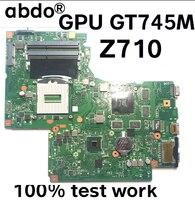 DUMBO2 REV 2 1 für Lenovo Ideapad Z710 notebook motherboard SR16D HM86 PGA947 DDR3 GT745M 2GB 100% umfassende test arbeit-in Laptop-Hauptplatine aus Computer und Büro bei
