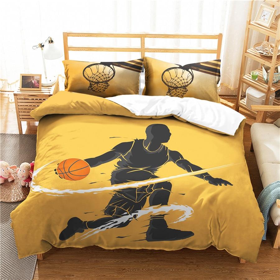 Juego de cama con edredón estampado en 3D, juego de cama de baloncesto deportivo, Textiles para el hogar para adultos, ropa de cama con funda de almohada # LQ15 Envío Gratis, Wofea, IOS, aplicación Android de Control inalámbrico en casa, sistema de alarma de seguridad GSM, intercomunicador bidireccional, SMS, aviso de apagado