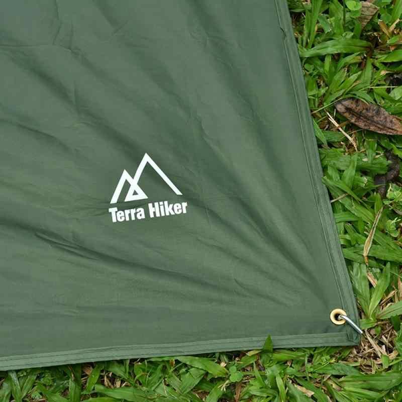 3 حجم المظلة الشمس المأوى الشاطئ في الهواء الطلق التخييم حديقة الشمس المظلة المظلة أرجوحة المطر يطير قماش القنب مقاوم للماء خيمة الظل 7