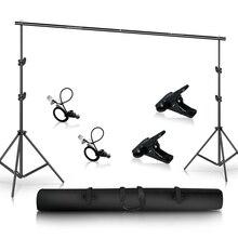 Kit de système de soutien de toile de fond de Photo pour les décors de photographie de Support de fond de Studio de Photo