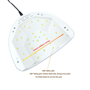 Image 5 - SUNone 48W UV LEDเล็บเล็บสำหรับเล็บเครื่องเป่าเล็บ30Pcsเล็บLedสำหรับบ่มUVเจลเล็บเคลือบเงาเล็บเครื่องมือArt
