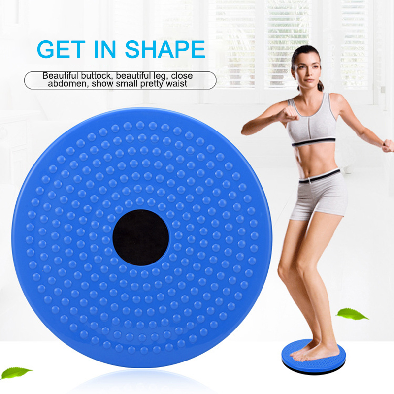 Magnetic Massage Plate Waist Twisting Disc Fitness Exercise Accessories Portable Home Sports Plate Exercise Wobble Twisting Disc