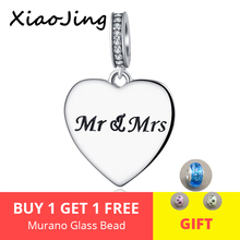 fit Authentic pandora pandora Bracelet Silver 925 Original love heart Charms Pendant beads diy jewelry making for women Gifts