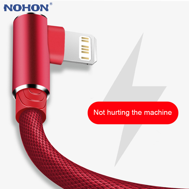 1M 2M 3M 90 Degree USB Data Charger Fast Cable for iPhone X XR XS MAX 12 11 5 6 S 6S 7 8 Plus iPad Phone Origin long Cord Charge|Mobile Phone Cables|   - AliExpress