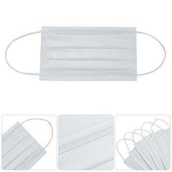 Máscaras descartáveis 3 camadas de máscaras protetoras regulares custam $35 por pacote com frete grátis