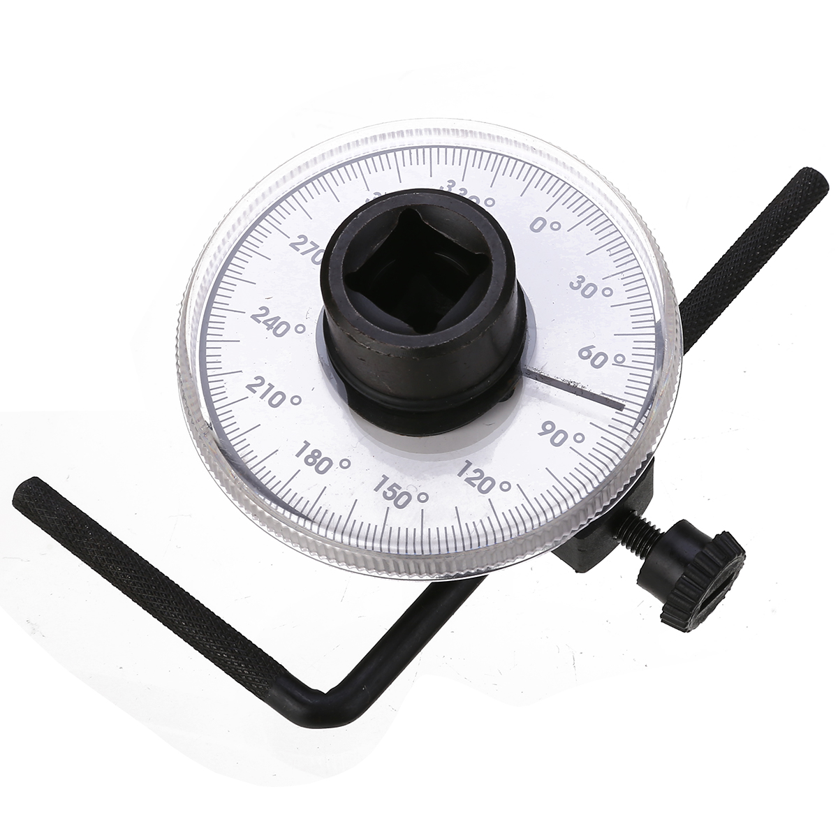 New Arrival 1 Set 1/2 Inch Adjustable Drive Torque Angle Gauge Auto Garage Tool Set For Hand Tools Wrench