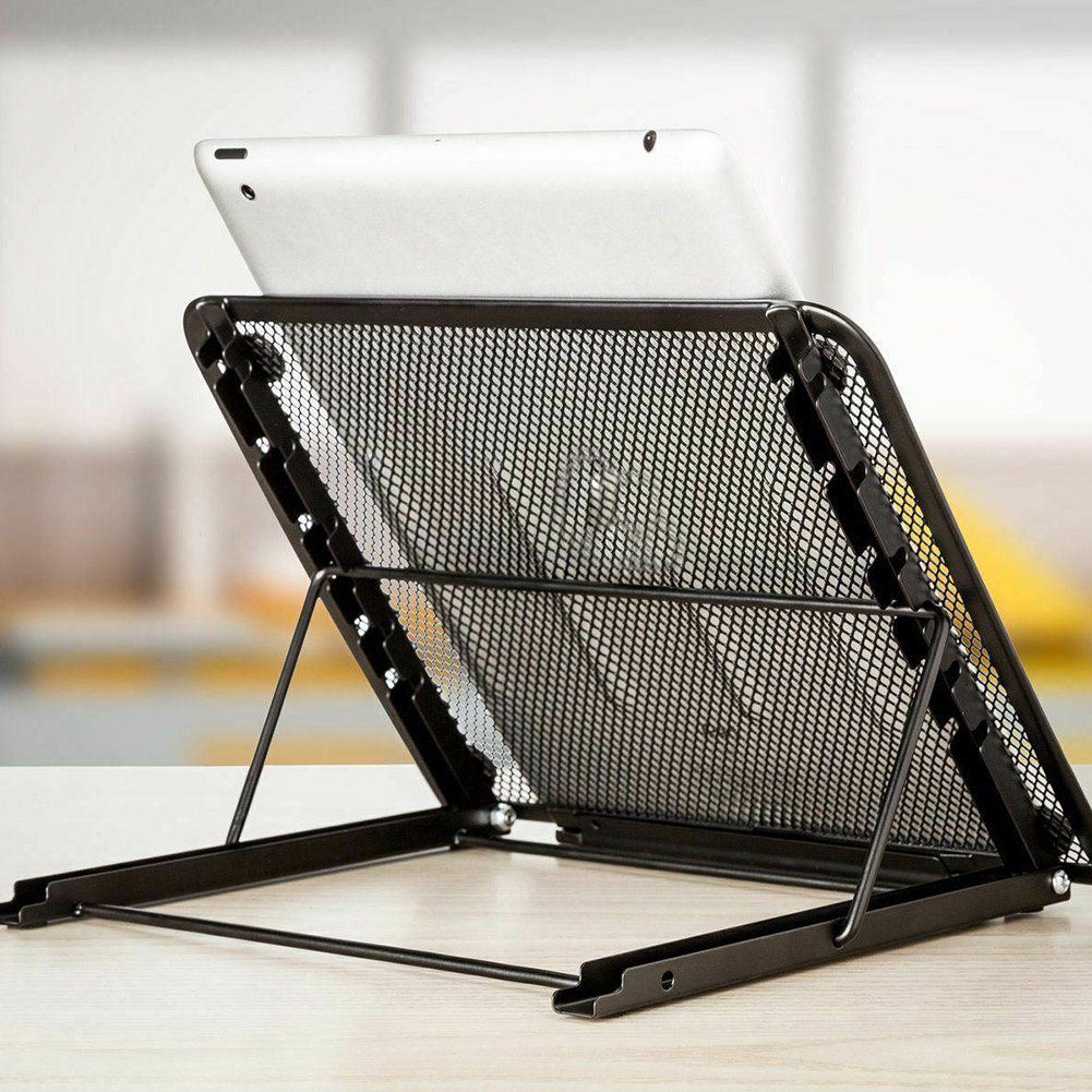 Portable Adjustable Laptop Notebook Table Stand Tray Foldable Computer PC Holder VJ-Drop