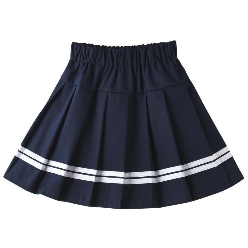 VIDMID fille jupes bébé hiver décontracté Mini jupes plissées enfants princesse Tutu jupe enfants vêtements 4-14 ans P145