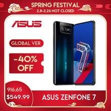 Asus zenfone 7/ 7pro snapdragon 865/865 plus nfc android ota 5000mah qc 4.0 8gb ram 128/256gb rom 6.67