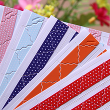 Solid-Color Photo-Albums-Frame Paper-Stickers Decoration Scrapbooking Opaque-Corner 1-Sheets