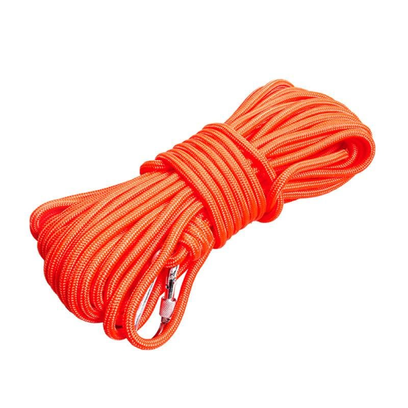 High Quality Climbing Rope Durable And Wear-resistant Rescue Rope Outdoor Safety Mountain Rescue Escape Auxiliary Tent Tool