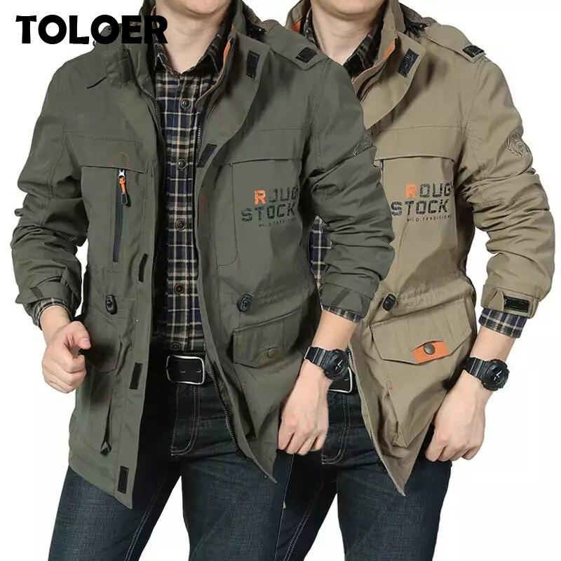 Осенне зимняя хлопковая военная куртка для мужчин, тактическое пальто, армейское пальто MA1, мужские Брендовые куртки бомберы, мужские куртки с капюшоном для улицы Куртки      АлиЭкспресс