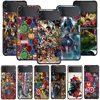 phone Case For Samsung Galaxy Z Flip3 5G Z Flip 3 z flip ZF 5G Cover PC Capa Hard Funda Coque Marvel Avengers Battle For Earth