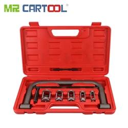 MR CARTOOL автомобильный двигатель головка цилиндра клапан пружинный компрессор удалить установочный инструмент набор зажимов квадроциклы ус...