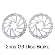 BIKEIN- 6 For Brake Bicycle Rotors Parts 12 Disc 2pcs Stainless Steel BB7 Rotor Disc G3 MTB Blots Inches Mountain BB5 160mm Bike(China)