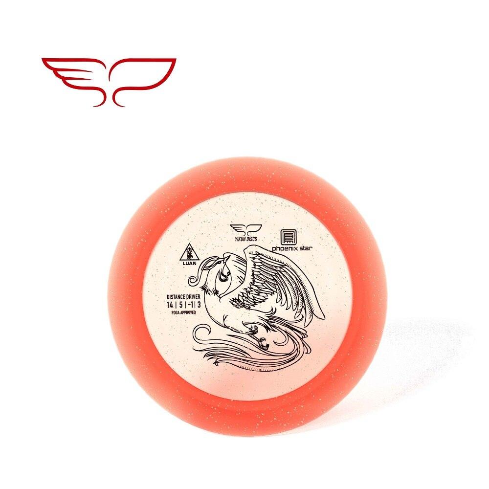 PDGA Approval Professional Yikun Disc Golf Driver Phoenix Line LUAN 11.11