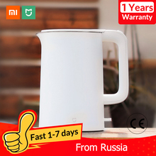 Xiaomi Mijia Electric Kettle Tea Pot 1.5L Auto Power off Protection Kitchen Water Boiler Teapot Instant Heating Stainless Steel