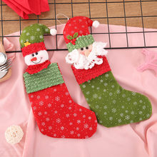 Merry Christmas Plush Tree Hanging Gift Candy Large Christmas Gift Socks Decoration Christmas Gift Bags Christmas Gift Box Noel(China)