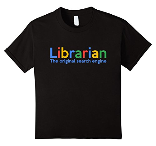 Librarian The Original Search Engine T Shirt | Funny Library O Neck Oversize Style Tee Shirts Styles Print T Shirt Male Brand image