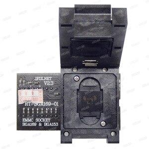 Image 5 - RT BGA169 01 V2.3 EMMC مقعد EMCP153 EMCP169 المقبس ل RT809H مبرمج 11.5*13 مللي متر إضافة أكثر 3 قطعة مصفوفة