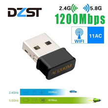 AC1200M Wireless Network Card MINI High Quality 2.4G/5 .8G Wifi Network Card For Windows XP Vista 7 8 10 Usb 3.0 Wifi Adapter