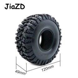 4 sztuk 120MM 1.9 cal gumy skały opony opony do kół do 1:10 samochód zdalnie sterowany RC osiowe SCX10 90047 D90 D110 TF2 dla TRX-4 W121