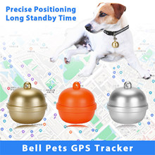 GPS Smart Pet Bell Locator Mini Anti-lost Waterproof Bluetooth Locator IP67 Waterproof Electronic Fence Positioning Collar