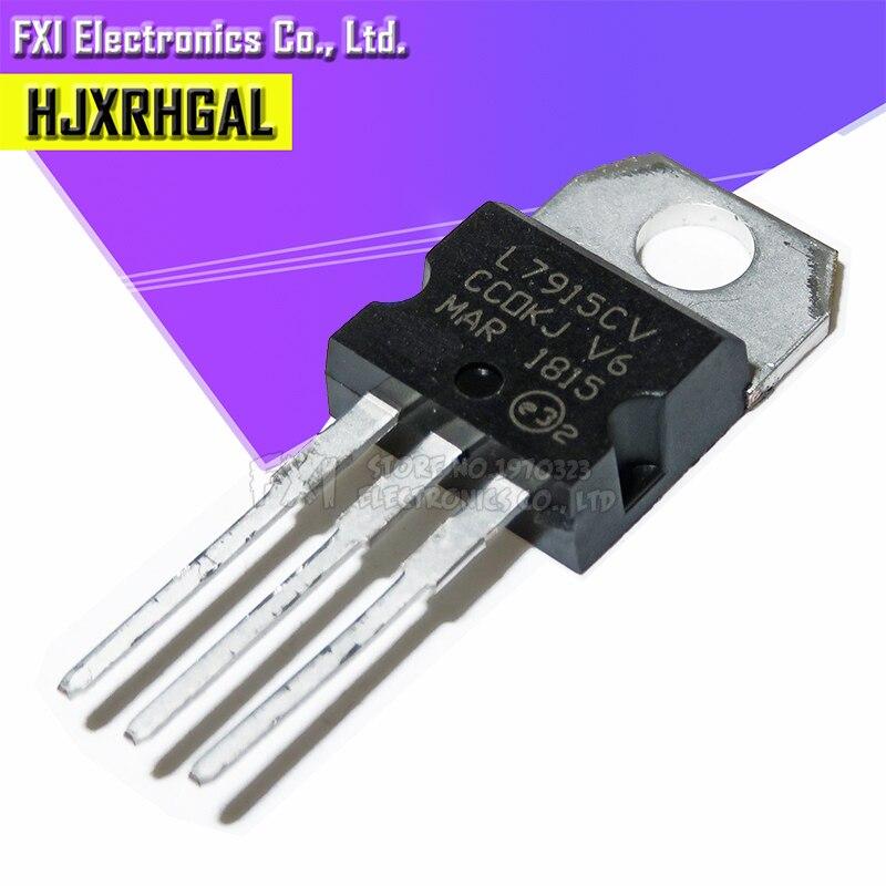 10PCS L7915CV L7915 TO-220 TO220 7915 LM7915 MC7915 New Original