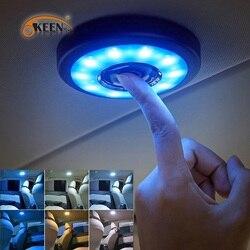 OKEEN-lampe de lecture d'intérieur pour voiture, rechargeable par USB, aimant de toit, jour, coffre, dôme carré pour véhicule, LED