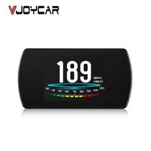 """Vjoycar OBD2 GPS HUD Ô Tô Trên Tàu Máy Tính 4.3 """"HD TFT Kỹ Thuật Số Tốc Độ Máy Chiếu OBD Đầu Lên Màn Hình nước Làm Mát Nhiên Liệu Mã Lỗi Rõ Ràng"""
