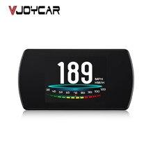 """Vjoycar OBD2 gps hud車のオンボードのコンピュータ 4.3 """"hd tftデジタル速度プロジェクターobdヘッドアップディスプレイクーラント燃料故障コードクリア"""
