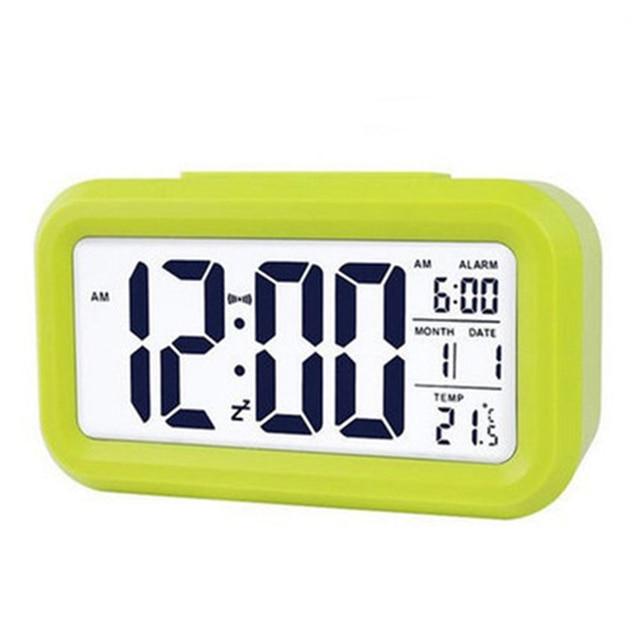 Hot sale LED Digital Alarm Clock Backlight Snooze Mute Calendar Desktop Electronic Bcaklight Table clocks Desktop clock 2