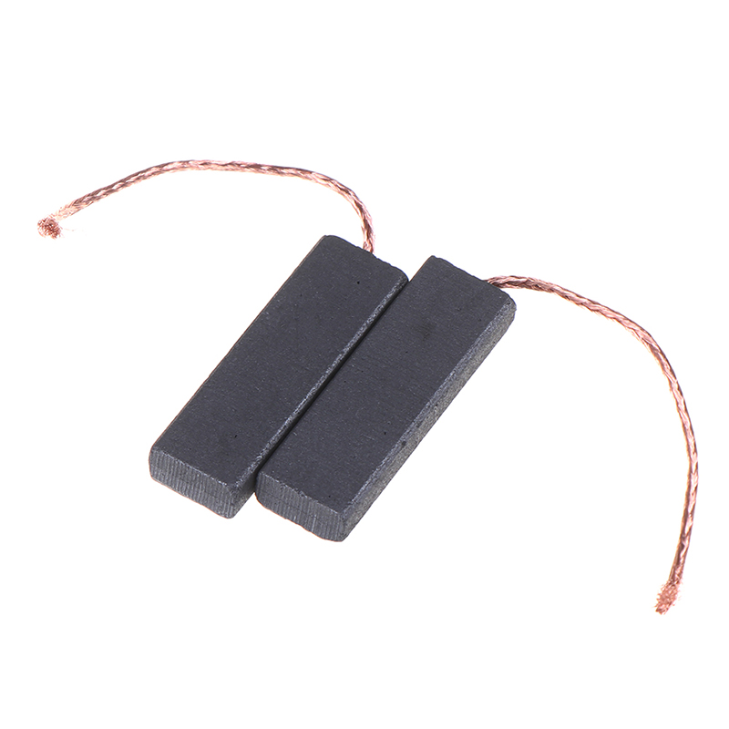 2pcs Black Carbon Brush Motor 5*13.5*40mm With 70mm Length Lead For Washing Machine High Quality