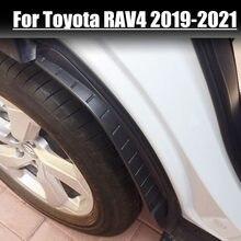 2 sztuk błotnik błotnik samochodowy remont tylna opona Fender specjalna dekoracja dla Toyota RAV4 RAV-4 LE SLE Limited 2019 2020 2021 błotnik