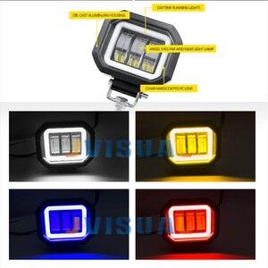 Image 3 - Светодиодная фара рабочего света 6D, 5 дюймов, 30 Вт, 12 В, 24 В, 6000 К
