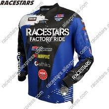 Гоночные рубашки racestars для мотоцикла переключения скоростей