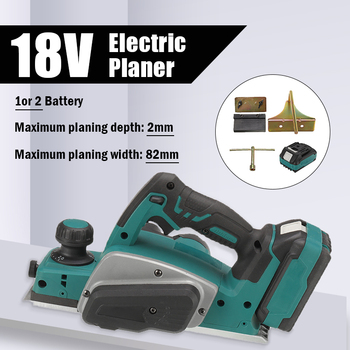 18V Electric Planer Multifunctional Lithium Electric Planer Industrial Grade Woodworking Press Portable Planer planer electric diold re 1000 01