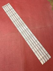 Image 5 - جديد 5 قطعة/الوحدة 10LED 777 مللي متر LED شريط إضاءة خلفي لشركة هيتاشي LE40S508 C400F13 E2 C (G2) RF AB400E32 1001S 01 A7