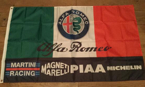 Индивидуальный подарок, полиэфирный флаг 3x5 футов с баннером alfa romeo, 3x5 футов