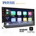 2 Din Android Auto autoradio Apple Carplay 7 écran tactile MP5 lecteur multimédia Bluetooth mains libres A2DP USB unité de tête PHYEE X2
