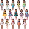 14.5 Inch Nancy American Girls Doll Toys For Girls Clothes School Uniform Swimsuit Dress Skirt Baby Toys Accessories Gift x79