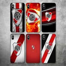 Phone Case Fernandez For iphone DIY River Plate FC Black Soft TPU iPhone 11Pro X XR XS MAX 7 8 7plus 6 6S 5S SE 5