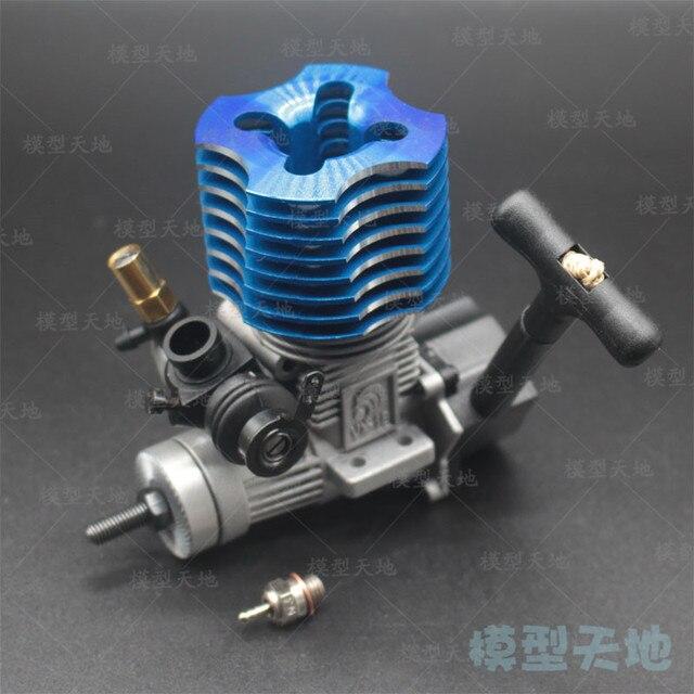 HSP 02060 VX 18 Motor 2.74CC Pull Starter Blau Für RC 1/10 Nitro Auto Auf road Auto Buggy Monster bigfoot Lkw 94122 94166 94188